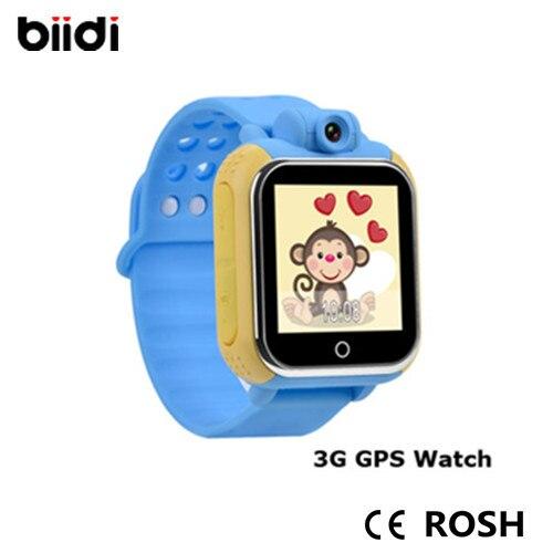 Android smart gps kids watch G75 font b Smartwatch b font Bluetooth wifi 1 54 touchscreen