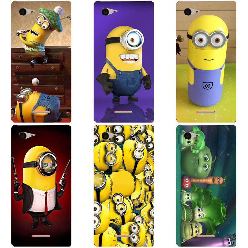 Cases For <font><b>Sony</b></font> <font><b>Xperia</b></font> <font><b>E3</b></font> D2203 D2206 D2243 D2202 Dual <font><b>D2212</b></font> Original <font><b>Back</b></font> <font><b>Cover</b></font> Shell Colorful Soft TPU Silicone Coque Capa image