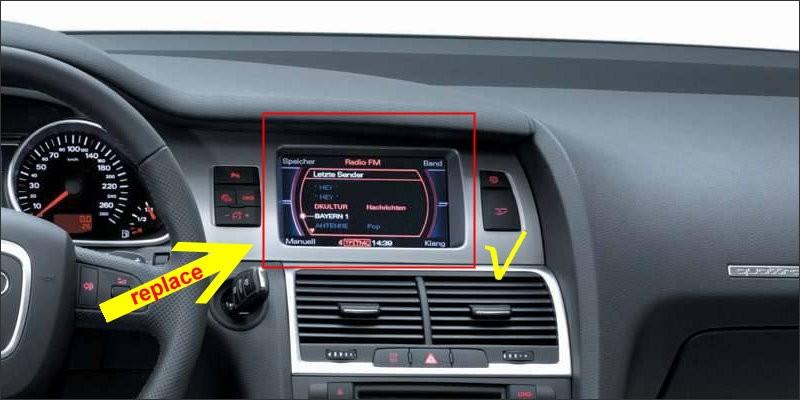 Audi A6L 2007-2011-fit too 1
