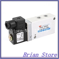 5 Ports 2 Positions Air Control Solenoid Valve AC220V 50 Hz