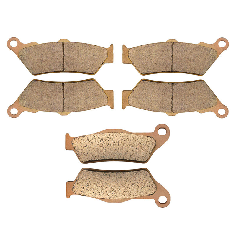 Motorcycle Parts Copper Based Sintered Motor Front & Rear Brake Pads For KTM 950 Adventure/s 950Adventure 2004-2006 Brake Disk for ktm 390 duke motorcycle leather pillon passenger rear seat black color
