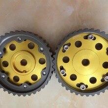 Шестерня распределительного вала для peugeot 206 xs tu5jp4 1,6 16v и citroen TU5Jp4 двигатель cam шестерни Верньер шкив для зубчатого ремня