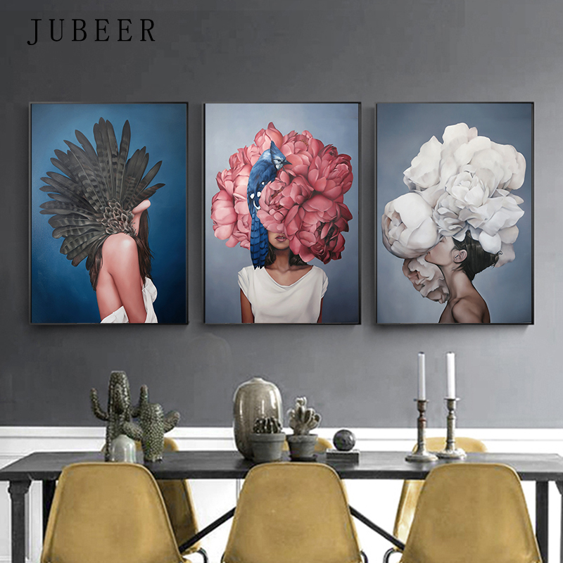 HTB1ELJ1evWG3KVjSZPcq6zkbXXa7 High Quality Printed Canvas Painting Wall Art Prints Poster Living Room Decor Decorative Paintings On The Wall Home Decor