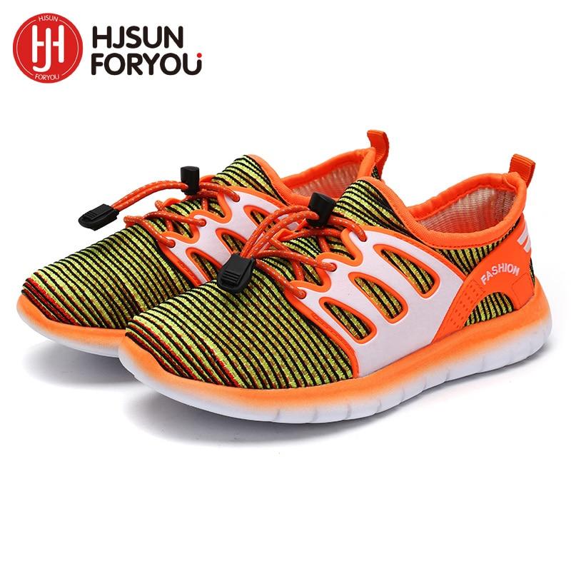 Nye børn sko drenge sneakers piger sportssko størrelse 27-37 barn fritidstrænere afslappet åndbar børn løbesko 3 farve