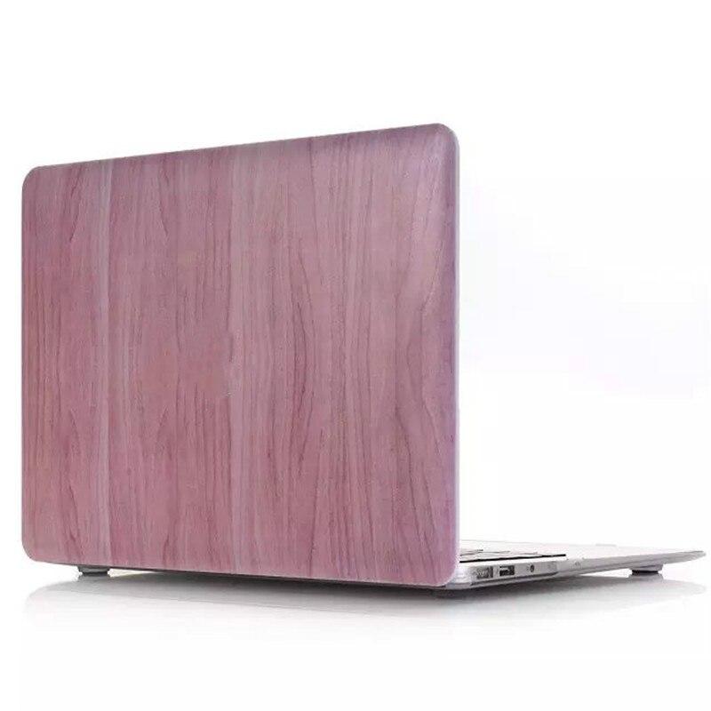 "Unique Wood Grain Hard Case Shell for Macbook Pro Air 11/"" 13/"" 15/"" Retina 12/"""