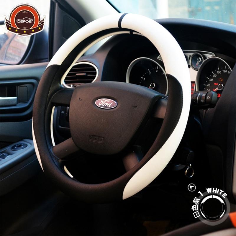 Neue Sport Vier Jahreszeiten auto lenkradabdeckung Boutique Auto Auto lenkrad Durchmesser 38 cm Multi-farbe zu wählen styling