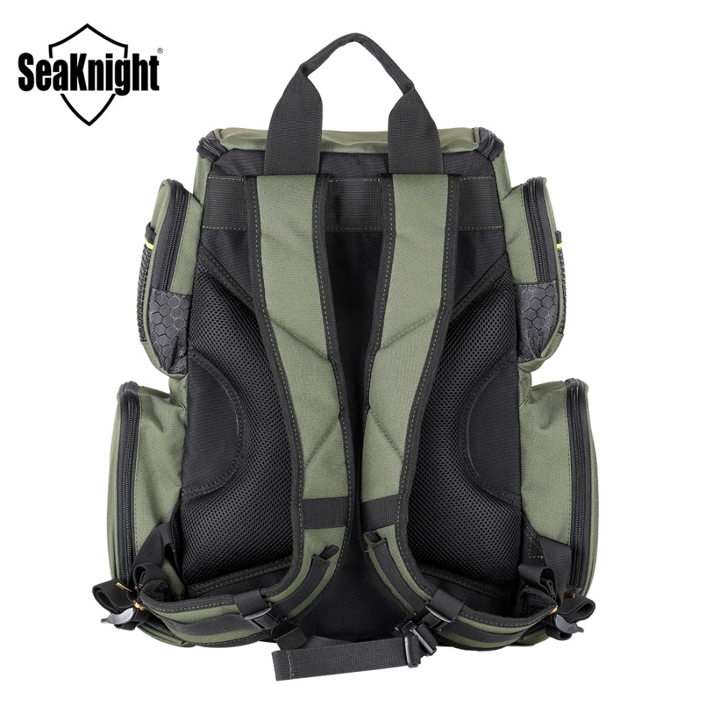 SeaKnight SK004 Outdoor Fishing Tackle Bag  Large Capacity 25L Multifunctional 41*44*20cm  Fishing Backpack 1000D Nylon-in Fishing Bags from Sports & Entertainment    2