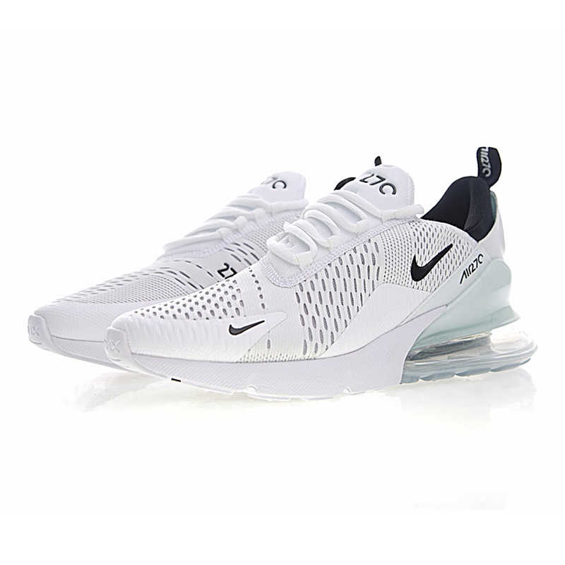 new styles 107bb 31604 ... Nike Air Max 270 Men s Running Shoes,Shoes,White   Light Blue,  Breathable ...