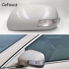 Cafoucs для Toyota Camry Vios 2006-2011 Автомобильный светильник сигнала поворота и крышка зеркала заднего вида