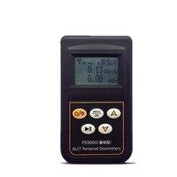 FS9000 обновлен счетчик Гейгера личный сигнал тревоги Дозиметр Тестер японский английская версия