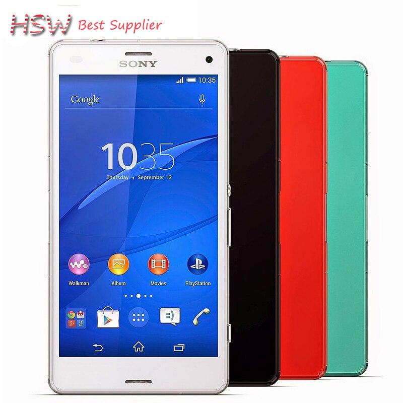100 Original Sony Xperia Z3 Compact 3g 4g Z3 Mini Android Quad core 2gb Ram 16gb