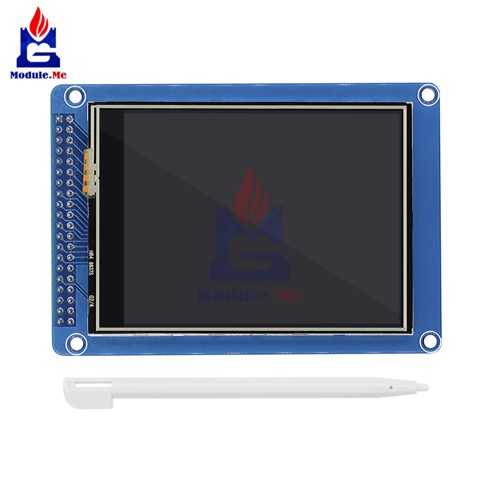 diymore <font><b>3.2</b></font> inch 240x320 Touch Panel <font><b>TFT</b></font> LCD Display Module with Pen SD Card Socket for <font><b>Arduino</b></font> Raspberry Pi image