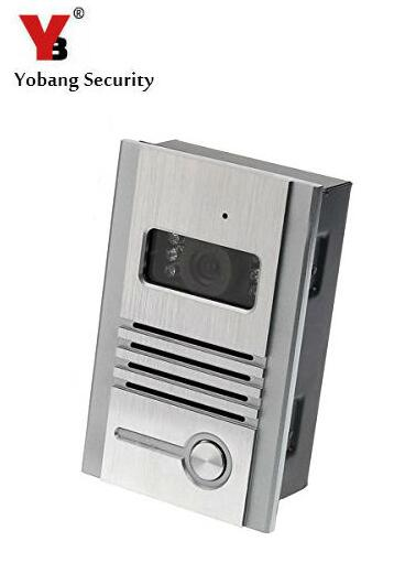 Yobang Security Metal Outdoor Unit IR Door Camera For Doorphone Monitor Rainproof Outdoor Camera for Video Door Phone No Screen yobang security metal outdoor unit ir door camera for doorphone monitor rainproof outdoor camera for video door phone no screen