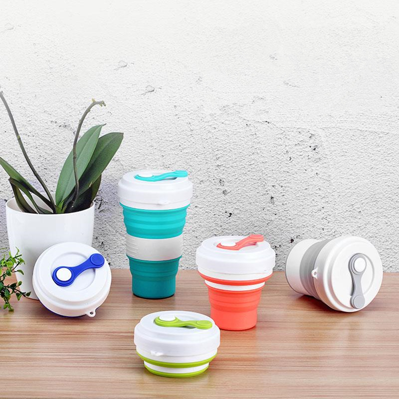 Water Bottle Plastic Rinse Cup Drinking Cup For Travel Camping Folding Cup