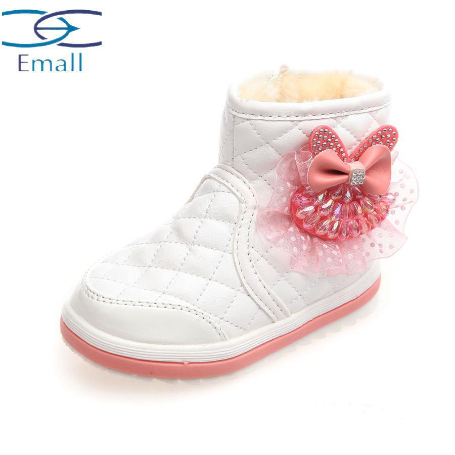 dd8a4f6a9af0b ... hiver style filles bottes de neige pour bebe fille bottes pour filles  bebe princesse chaussures