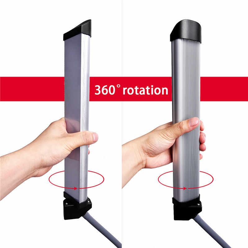 Fosoto FT-450 фотографический светильник ing мультимедийный Экстремальный с функцией селфи 3000-6000K 224 светодиодный светильник для телефона видеокамеры