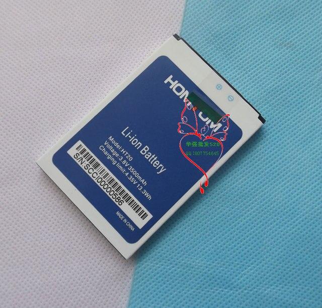 100% New Original homtom ht20 Battery 3500 mAh for HOMTOM HT20 Smart Phone