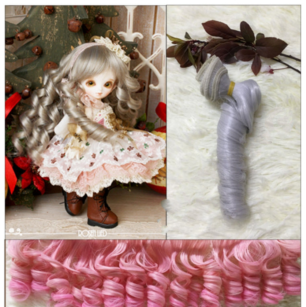 15 100cm DIY Doll Wig For Monster High Doll For BJD Doll DIY High temperature Wire