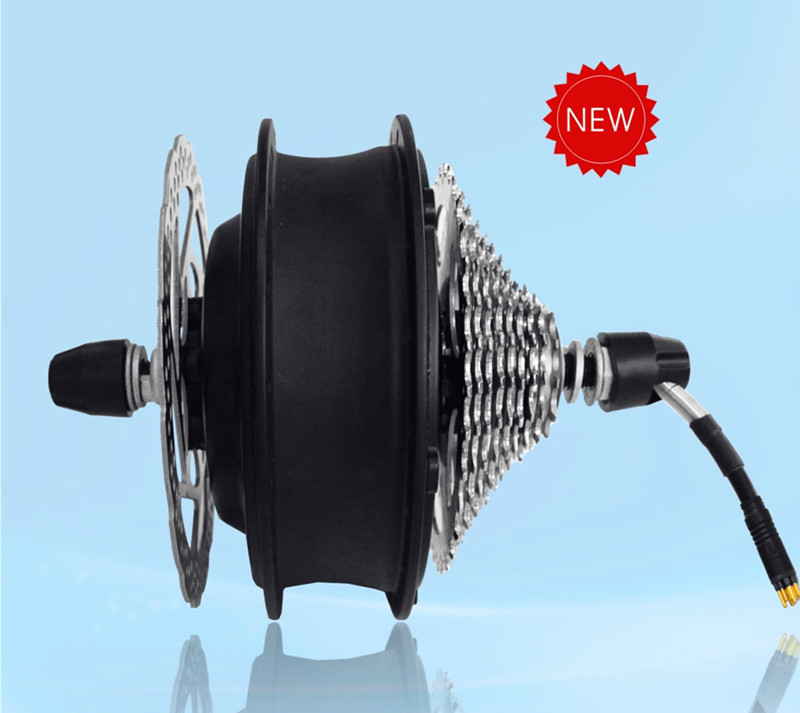3.9Kg 40Kph 48V 500W brushless gear hub motor for rear Ebike electric bike or electric bicycle