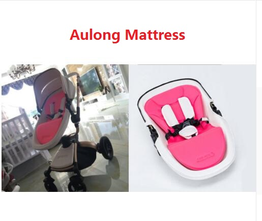AULON Cushion Lycra Fabric Seat Mattress suite for High Landscape Baby Stroller