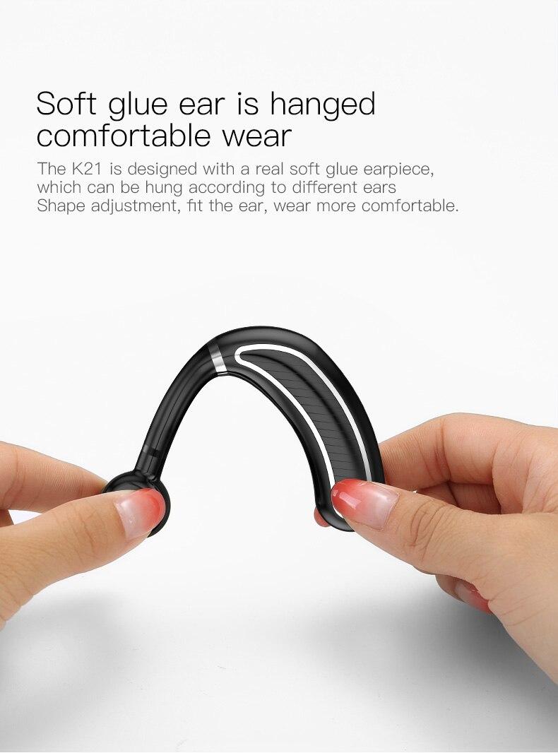 soft glue ear  Bluetooth Headset