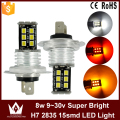 Night Lord 1pcs Nonpolarity Canbus H7 LED fog lamp fog light 9~30V 15LED 2835chip auto car foglight headlight