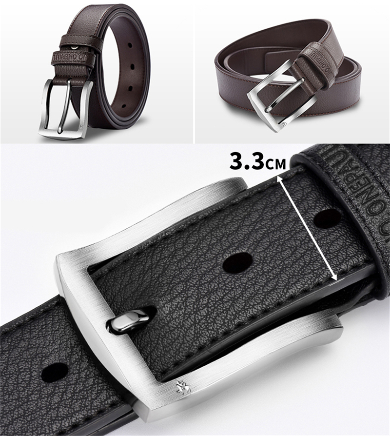 HTB1ELMFaiYrK1Rjy0Fdq6ACvVXaD - NO.ONEPAUL buckle men belt High Quality cow genuine leather luxury strap male belts for men new fashion classice vintage pin