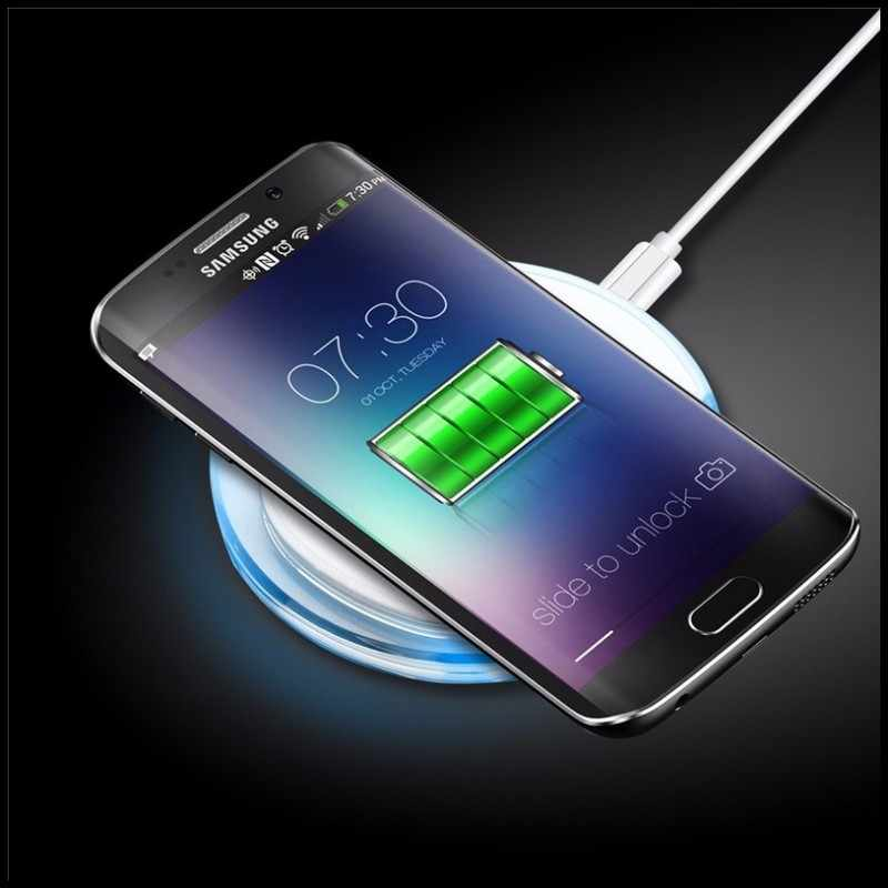 best cheap a7d2b fc211 Phone Case Charger For Samsung Galaxy S7 Edge S7 Wireless Power Bank Pad  Charging Case For Galaxy S6 Edge Plus Wireless Charger