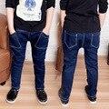 Новый Год, мальчик джинсы, детская одежда модный стиль и высокое качество дети джинсы, мальчики джинсы, мальчик темно-джинсы