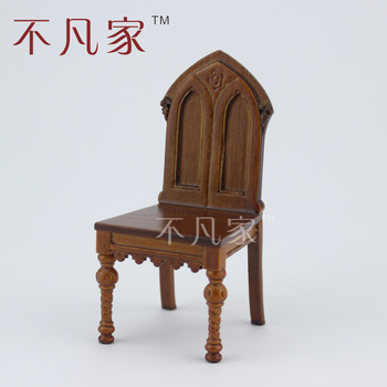 цена на Fine 1/12 scale miniature furniture&handcrafted Classical chair for dollhouse