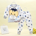 New baby's clothing baby 's underwear  print cotton sets autumn and winter underwear  baby's clothing 1-3 years old  clothing
