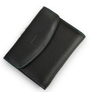 Image 5 - Beth Cat новый короткий женский кошелек из натуральной кожи, Модный женский маленький кошелек, женская сумка для денег, мини держатель для карт, кошельки с монетницей