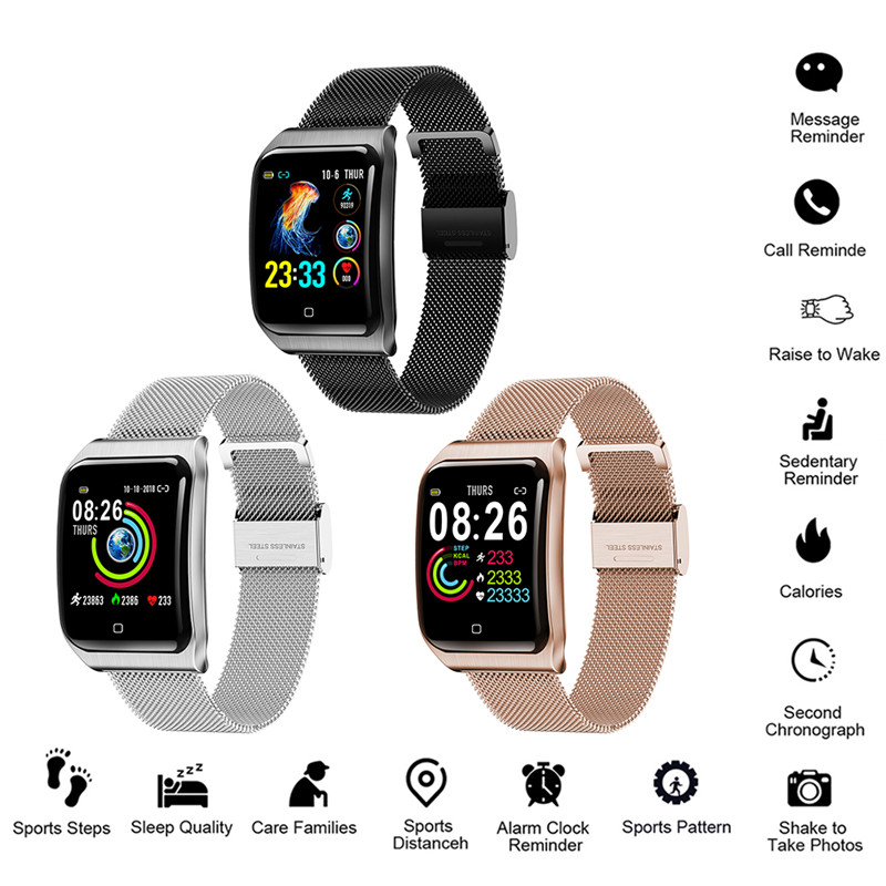 F9 Smart Watch IP68 Waterproof Men Sport Smartwatch Blood Pressure Heart Rate Monitor Fitness Tracker Smart Bracelet for XiaomiF9 Smart Watch IP68 Waterproof Men Sport Smartwatch Blood Pressure Heart Rate Monitor Fitness Tracker Smart Bracelet for Xiaomi