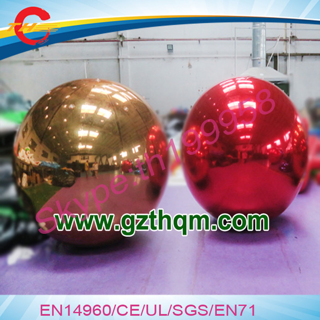 Christmas Disco Ball.Us 120 0 Aliexpress Com Buy 10pcs Lot Inflatable Mirror Surface Christmas Ball Disco Mirror Ball Light Mirror Reflection Stage Festival Hanging