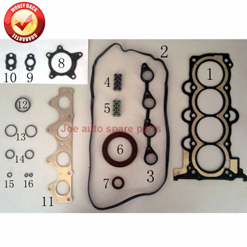 Detail Feedback Questions about G4FC Engine Full gasket set kit for