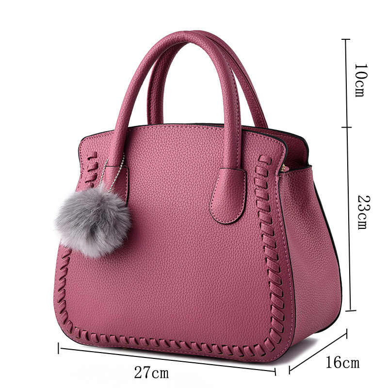 Leather Handbags Women Messenger Bags