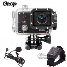 Original GitUp Git1 Sports Action Camera Novatek 96655 Full HD 1080P WiFi Video DVR Action Cam with Mic and Remote Control
