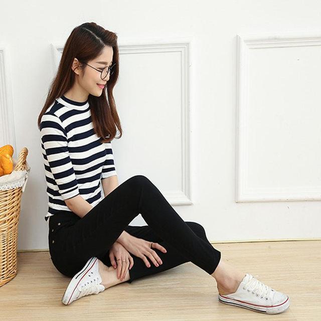 2016 Nueva Moda Casual Jeans Stretch Denim Pantalones Lápiz Pantalones Delgados Flacos de Las Polainas Jeggings Leggings Jeans Ropa de Mujer