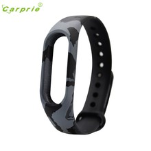 CARPRIE Replacement Silica Gel Wristband Band Strap For Xiaomi Mi Band 2 Wrist Loop Case Kit Bracelet pulsera Drop Shipping(China)