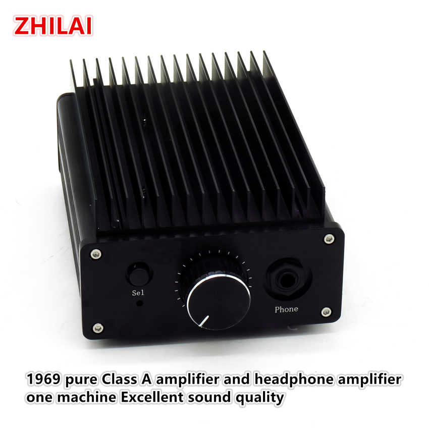 High quality sound quality 1969 Pure a class amplifier and headphone amplifier one machine A1