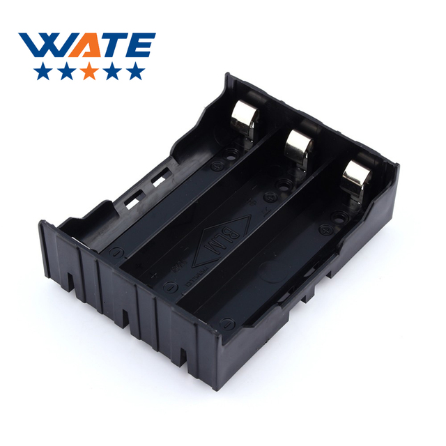 new product 54806 fdf97 US $4.6 |18650 Battery Holder Case Li ion Battery Box Battery Holder with  Pin for 3 * 18650 (3.7 11.1V) Battery Case-in Chargers from Consumer ...