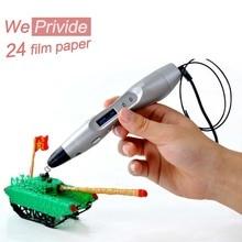 Творческий 1.75 мм ABS/PLA DIY Smart 3D Печати Граффити Ручка LED/ЖК-Дисплей 3D Ручка Живопись Ручка Ручка для Детей Рисунок Дизайн