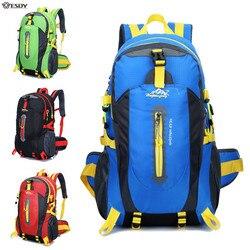 Plecak do wspinaczki plecak wodoodporny 40L torba sportowa na zewnątrz plecak podróżny Camping plecak turystyczny dla kobiet torba trekkingowa dla mężczyzn