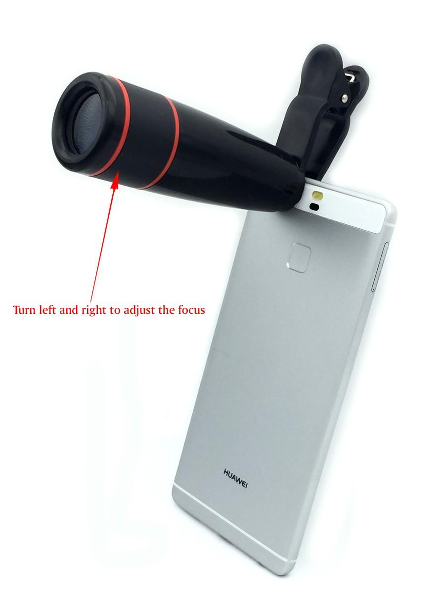 16 New 10in1 Phone Camera Lens Kit 8x Telephoto Lens + Wide Angle + Macro Lens +Fish Eye +Selfie Stick Monopod + Mini Tripod 10
