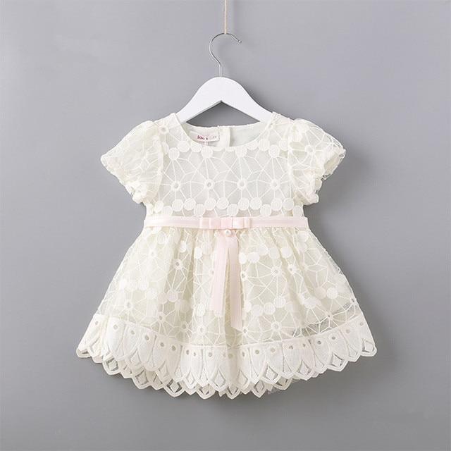 فستان بناتي بأكمام منتفخة مطرز بالزهور لحفلة عيد الميلاد ، ملابس للأطفال ، ملابس للفتيات ، وردي أبيض 0 2T