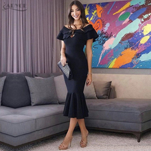 Adyce 2018 New Style Women Cut Out Bandage Dress Sexy Mermaid Midi Dress Celebrity Party Dresses Vestidos de festa Free Shipping