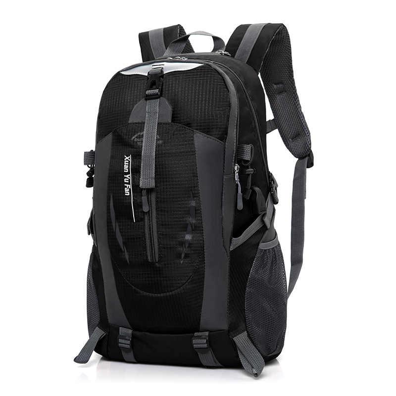 1ec4df912fed Мужской рюкзак 15,6 17 дюймов компьютер ноутбук обратно в школьные сумки  унисекс большой емкости