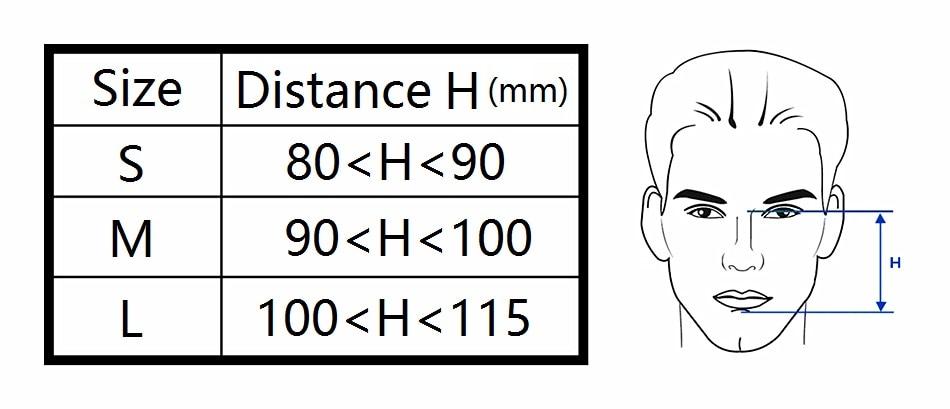 FM1A masque facial complet pour Machine Bipap CPAP ronflement et thérapie du sommeil taille SML connecter le visage et le tuyau avec des Clips de couvre chef-in Sommeil et ronflement from Beauté & Santé    3