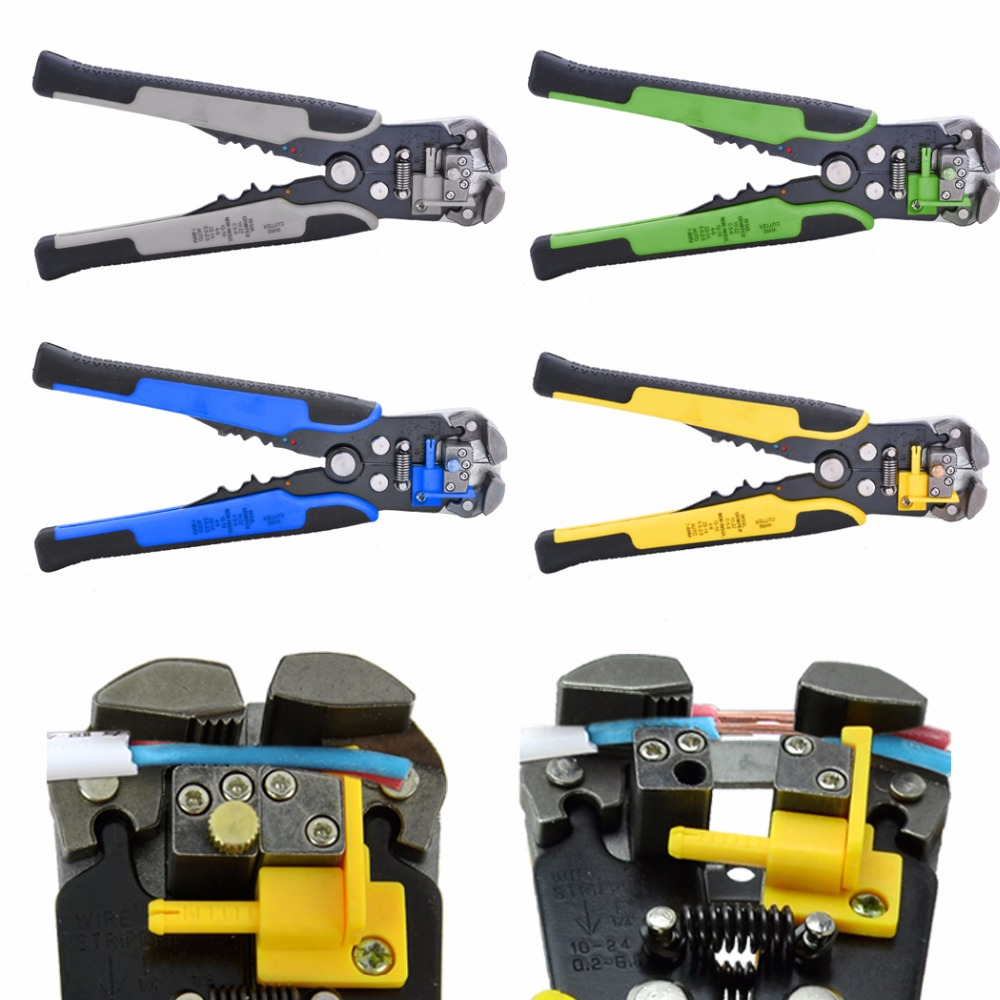 Wire Stripper Multi Tool  Alicate Tools Cable Pliers Crimping Pliers Ferramentas Hand Tools alicate descascador de Free shiping automatic cable wire stripper stripping crimper crimping plier cutter tool diagonal cutting pliers peeled pliers