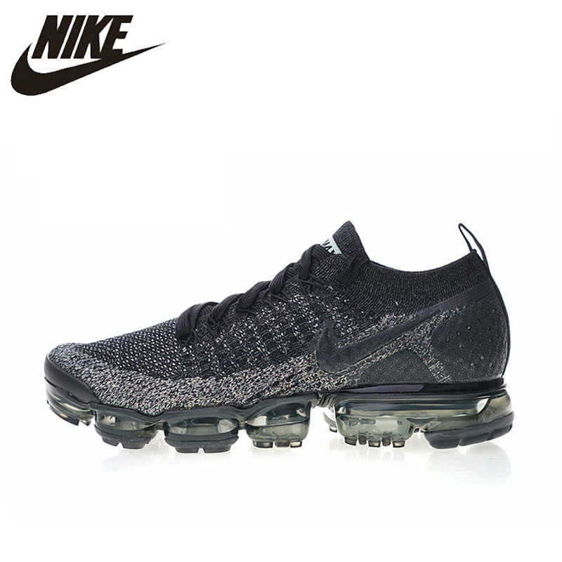 23f271850 Nike Air VaporMax Flyknit 2.0 Men s Running Shoes Sport Outdoor Breathable  Sneakers Designer Athletic 2018 New